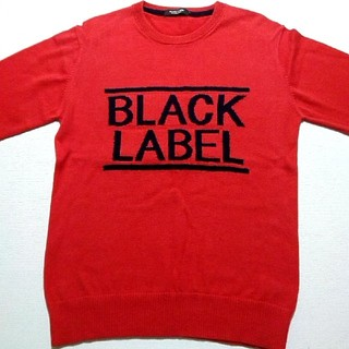 BURBERRY BLACK LABEL - 🖤デザインスウェットトレーナー🖤新品同様クリーニング済み🖤