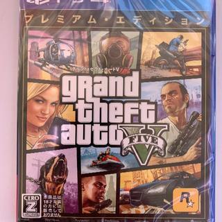 PlayStation4 - 新品 PS4 グランド・セフト・オートV:プレミアム・エディション 即購入OK