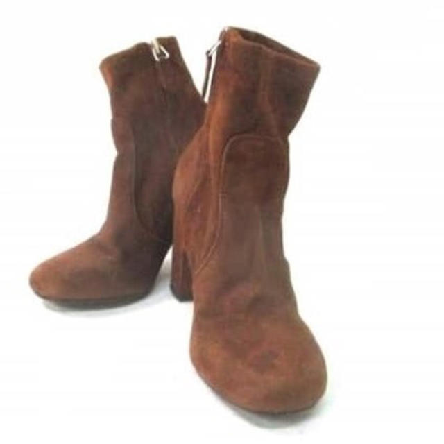 SLY(スライ)のSLY ブーツ レザーショートブーツ ブラック レディースの靴/シューズ(ブーツ)の商品写真