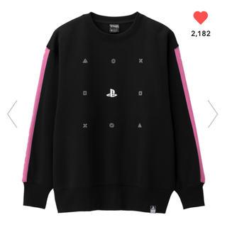 GU - ジーユー ビッグスウェットシャツ PlayStation プレイステーション