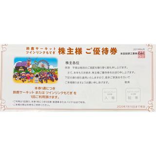 ホンダ - 本田技研工業 株主優待券 鈴鹿サーキット ツインリンクもてぎ
