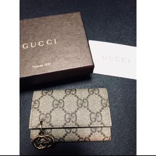 Gucci - 【美品】GUCCI キーケース