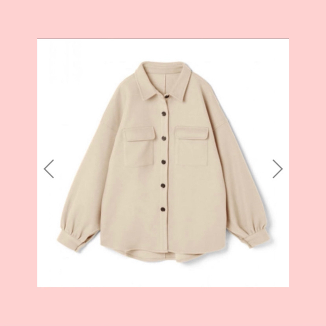GRL(グレイル)の  GRL ボリュームスリーブシャツジャケット レディースのジャケット/アウター(テーラードジャケット)の商品写真