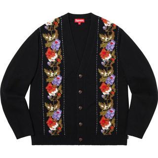 Supreme - supreme Floral Stripe Cardigan