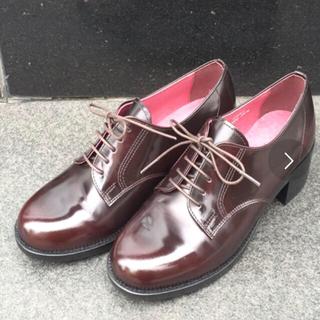 ハルタ(HARUTA)の❁いめ様専用❁ HARUTA ハルタ 本革 ヒールアップレザープレーントゥ(ローファー/革靴)