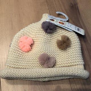 フタフタ(futafuta)の[新品、未使用]フタフタ とんがり帽子 オフホワイト(帽子)