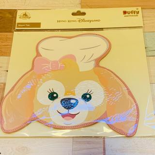 ダッフィー(ダッフィー)の【セール品】香港ディズニー限定 クッキー マウスパッド(オフィス用品一般)