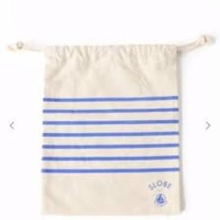 SLOBE IENA  × プチバトー ポーチ 巾着