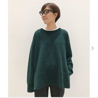 L'Appartement DEUXIEME CLASSE - L'Appartement Wool cashmere C/N Slit Kni