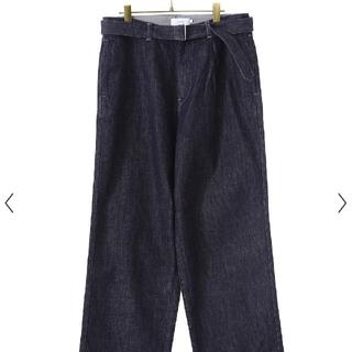 ワンエルディーケーセレクト(1LDK SELECT)のgraphpape Colorfast Denim Belted Pants(デニム/ジーンズ)