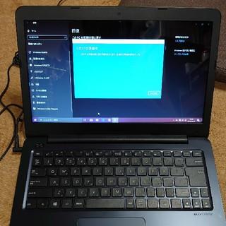 エイスース(ASUS)の2019年製 ASUSノートパソコン E402YA SSD256GB(ノートPC)