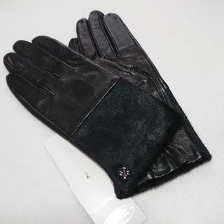 アンテプリマ(ANTEPRIMA)の新品 アンテプリマ レザー 革手袋 羊革 牛革 ブラック(手袋)
