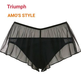 AMO'S STYLE - Triumph AMO'S STYLE レギュラーショーツ+フレアショーツ M黒