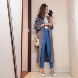 PLST - 美品✨PLST ウォームリザーブ スティック パンツ ブルー