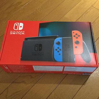 ニンテンドースイッチ(Nintendo Switch)の「Nintendo Switch JOY-CON(L) ネオンブルー/(R)(家庭用ゲーム機本体)