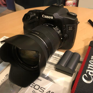 Canon - Canon eos40d 18-135IS セット 美品 お値下げ!