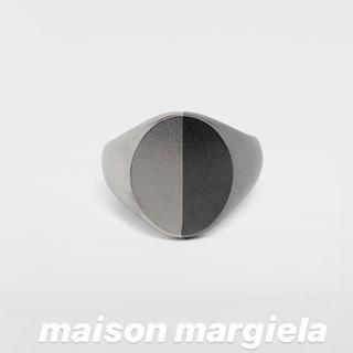 マルタンマルジェラ(Maison Martin Margiela)のmaison margiela 19aw 新作 シグネット リング 新品(リング(指輪))