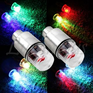 RGB LED ホイール エアバルブキャップ 2個1セット ホンダ車汎用