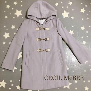 CECIL McBEE - セシルマグビー ビット付きロングウールコート