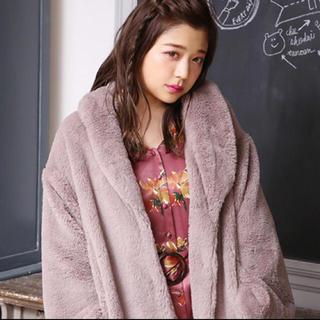 ナイスクラップ(NICE CLAUP)のうさぎ女子コート(毛皮/ファーコート)