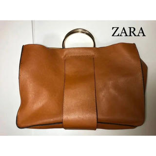 ZARA - ZARA メタルハンドルショルダーバッグ 2way