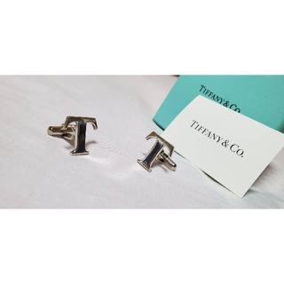 ティファニー(Tiffany & Co.)の正規限定 ティファニー×トヨタ Tロゴカフス イニシャルエンブレム SVゴシック(カフリンクス)