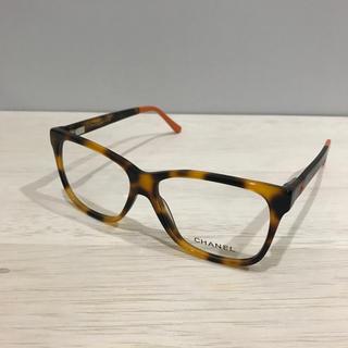 CHANEL - シャネル メガネフレーム CH3230 鼈甲色/オレンジ