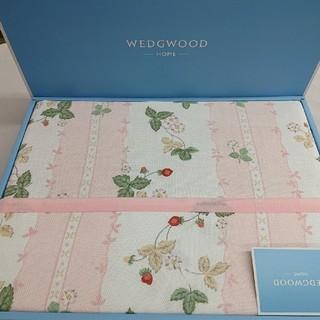 最終値下げ数量限定 限界価格 新品 大人気のウェッジウッド 西川  綿毛布