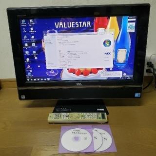 エヌイーシー(NEC)のNEC PC-VW670WG68 core i3 4GB 500GB 地デジ (デスクトップ型PC)