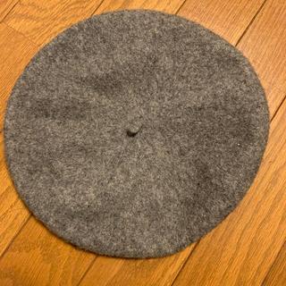 イング(INGNI)のイング ベレー帽 グレー(ハンチング/ベレー帽)