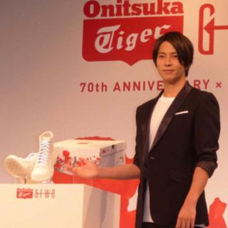 オニツカタイガー(Onitsuka Tiger)の【27.5】山下智久×オニツカタイガー 限定 70th記念ブーツ(スニーカー)