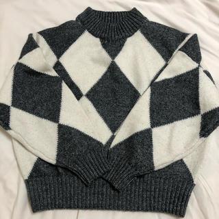 H&M - ジャカードニットセーター