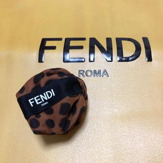 フェンディ(FENDI)のFENDIリボンのヘアクリップ(ヘアアクセサリー)