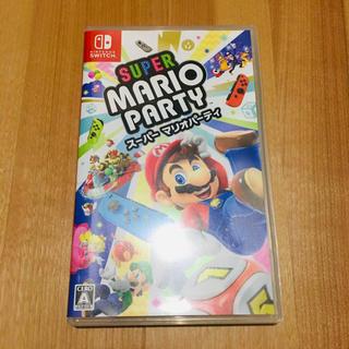 ニンテンドースイッチ(Nintendo Switch)の任天堂 Switch スーパー マリオパーティ スイッチ ソフト カセット(家庭用ゲームソフト)