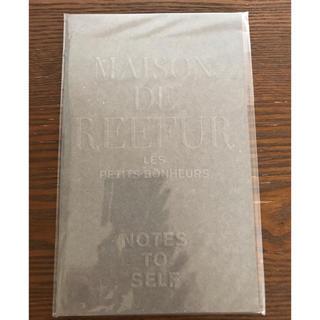 メゾンドリーファー(Maison de Reefur)のメゾンドリーファー 薄型ノート(ノート/メモ帳/ふせん)