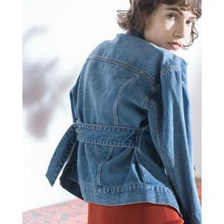 ミラオーウェン(Mila Owen)の新品 Mila Owen デニムジャケット ライトブルー(Gジャン/デニムジャケット)