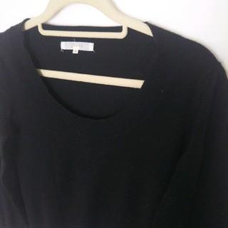グローブ(grove)のgrove 黒ニット★Mサイズ   セーター(ニット/セーター)