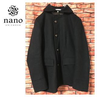 nano・universe - ナノユニバース ウール メルトンコート