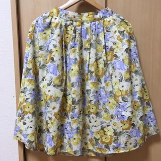 テチチ(Techichi)の美品♡Techichi(テチチ)スカート♡花柄(ひざ丈スカート)