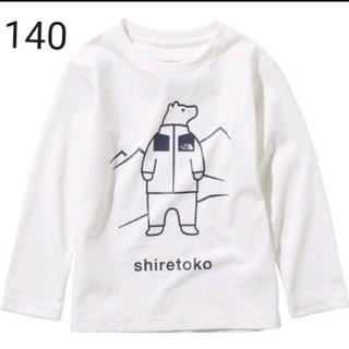 THE NORTH FACE - 【新品】ノースフェイス キッズ シレトコTシャツ 140