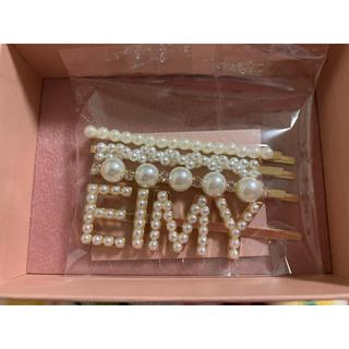 エイミーイストワール(eimy istoire)の【新品】【値下げ】eimy ヘアピンset ホワイト(ヘアピン)