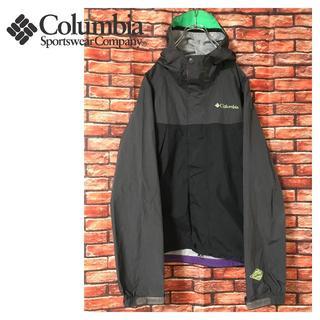 Columbia - Columbia 切り替え ナイロン パーカー ユニセックス