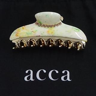 acca - acca マーブルのヘアクリップ  未使用品です