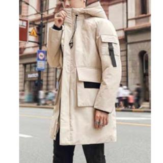 HARE - ダウンジャケット ホワイト 白色 白 アウター コート