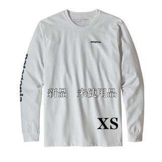 patagonia - 新品☆patagonia テキスト ロゴ レスポンシビリティー ホワイト xs