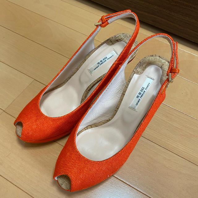 VII XII XXX(セヴントゥエルヴサーティ)の新品⭐︎SevenTwelveThirtyオープントゥパンプス レディースの靴/シューズ(サンダル)の商品写真