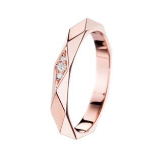ブシュロン(BOUCHERON)のブシュロン ダイヤモンド ファセット リング 750YG(リング(指輪))