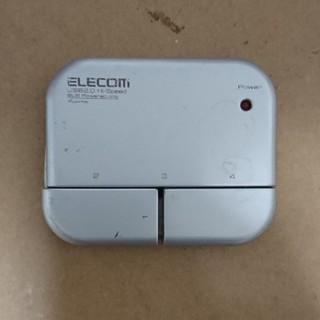 エレコム(ELECOM)の送料無料★USBハブ シルバー U2H-U4SV(PC周辺機器)