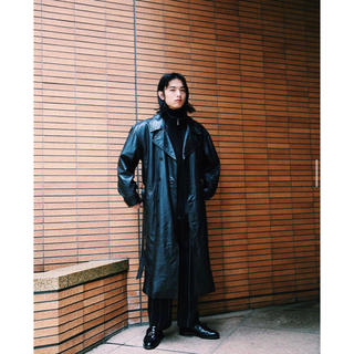 ジョンローレンスサリバン(JOHN LAWRENCE SULLIVAN)のLEATHER LONG TRENCH COAT SULLEN(トレンチコート)