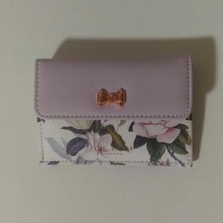 TED BAKER - 美人百花 テッドベイカー ミニ財布